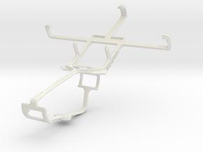 Controller mount for Xbox One & LG Optimus L5 II E in White Natural Versatile Plastic