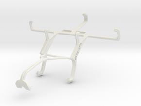 Controller mount for Xbox 360 & Maxwest Orbit 4400 in White Natural Versatile Plastic