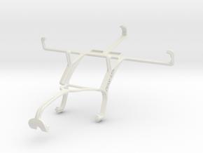 Controller mount for Xbox 360 & Maxwest Orbit 5400 in White Natural Versatile Plastic