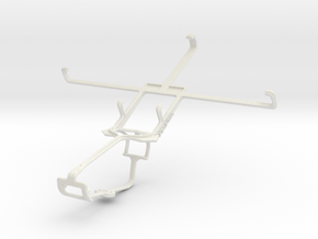 Controller mount for Xbox One & Maxwest Orbit 6200 in White Natural Versatile Plastic