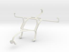 Controller mount for Xbox 360 & Maxwest Orbit Z50 in White Natural Versatile Plastic