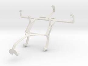 Controller mount for Xbox 360 & Motorola DEFY XT53 in White Natural Versatile Plastic