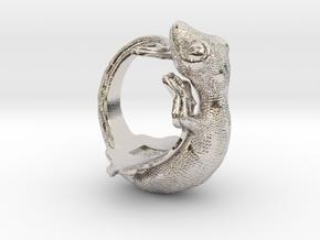 Gecko Size10 in Platinum