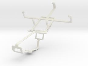 Controller mount for Xbox One & Motorola Defy Pro  in White Natural Versatile Plastic