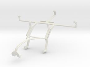 Controller mount for Xbox 360 & Motorola DROID Max in White Natural Versatile Plastic