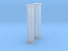 'N Scale' - Bucket Elevator-10' - Casing in Smooth Fine Detail Plastic