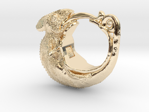 Chamereon Size11 in 14K Yellow Gold