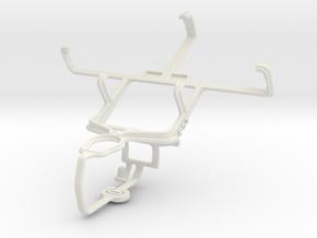 Controller mount for PS3 & Motorola SPICE Key XT31 in White Natural Versatile Plastic