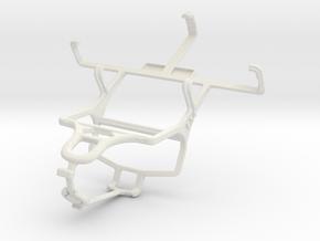 Controller mount for PS4 & Motorola SPICE Key XT31 in White Natural Versatile Plastic