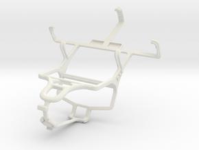 Controller mount for PS4 & NIU NiutekQ N108 in White Natural Versatile Plastic