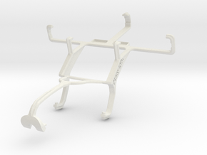 Controller mount for Xbox 360 & Oppo R811 Real in White Natural Versatile Plastic