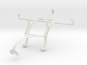 Controller mount for Xbox 360 & Pantech Flex  P801 in White Natural Versatile Plastic
