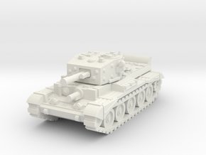 10mm Cromwell tank in White Natural Versatile Plastic