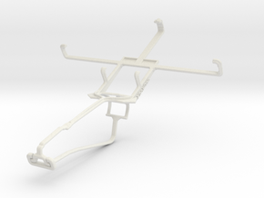 Controller mount for Xbox One Chat & Pantech Vega  in White Natural Versatile Plastic