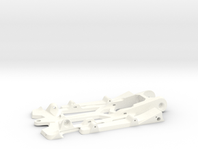 "888sr xl - 1/24 racer chassis 4.5"" wb in White Processed Versatile Plastic"