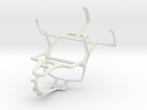 Controller mount for PS4 & Philips W930 in White Natural Versatile Plastic