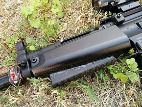 MP5 Handguard Picatinny Rail in Black Natural Versatile Plastic