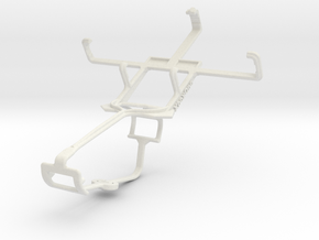 Controller mount for Xbox One & Samsung Galaxy Poc in White Natural Versatile Plastic