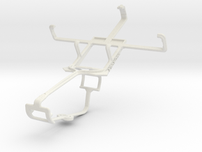 Controller mount for Xbox One & Samsung Galaxy Pop in White Natural Versatile Plastic