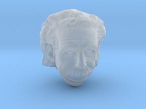 1:6 scale hallow einstein head in Smooth Fine Detail Plastic