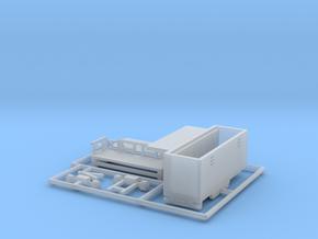 Toilettenwagen - 1:220 (z scale) in Smooth Fine Detail Plastic