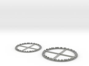 Secret Decoder Wheel Pendant in Metallic Plastic