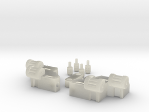 RL gun arms in Transparent Acrylic