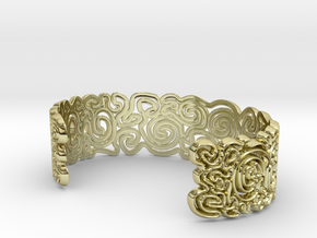 scribble Large in 18K Gold Plated