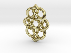 Celtic Knots 08 (small) in 18K Gold Plated
