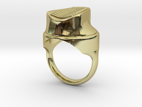 spray cap hollow in 18K Gold Plated