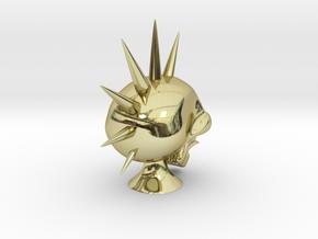 Hawk Skull in 18K Gold Plated