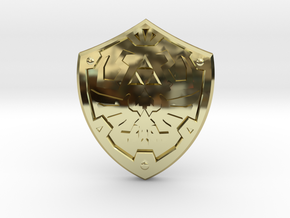 Royal Shield III in 18K Gold Plated