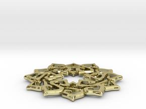 Nimyade Star Pendant in 18K Gold Plated