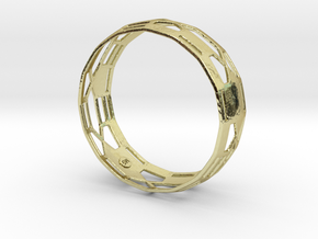 Athena Bangle in 18K Gold Plated