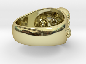 Little Reef Anemone Cocktail Ring in 18K Gold Plated