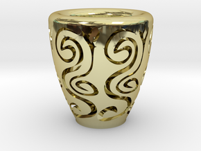 Orient coffee cup in 18K Gold Plated