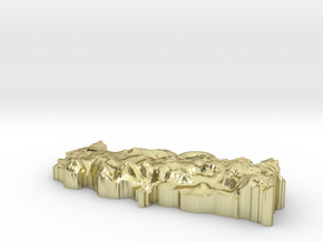 Turkey Earring in 18K Gold Plated