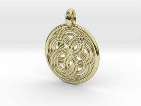 Carpo pendant in 18K Gold Plated