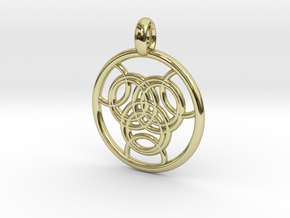 Praxidike pendant in 18K Gold Plated