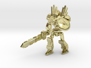 Mayan Doom Bot #2 in 18K Gold Plated