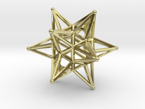 Dodeca Star Wire - 4cm in 18K Gold Plated
