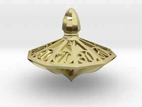Top d10 Decader in 18K Gold Plated