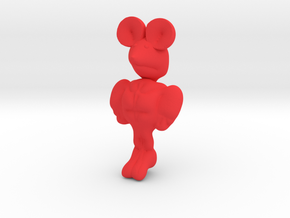 MICHAEL MOUSE in Red Strong & Flexible Polished
