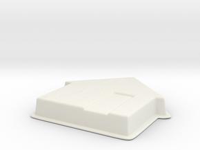 House V10 in White Natural Versatile Plastic