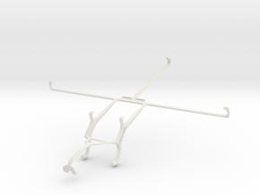 Controller mount for Xbox 360 & Samsung Google Nex in White Natural Versatile Plastic