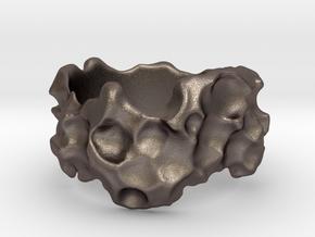 ELPIS Bracelet in Polished Bronzed Silver Steel