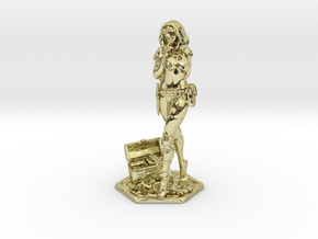 Female Thief 2inch in 18K Gold Plated