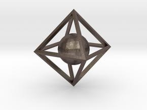 Sphere Pendant in Stainless Steel