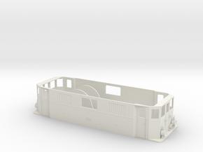 Gehäuse E-Lok EG 506 / 10208 in White Natural Versatile Plastic