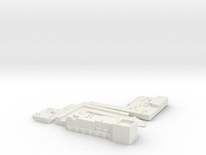 Austin-01-sample in White Natural Versatile Plastic
